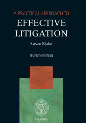 Practical Approach to Effective Litigation