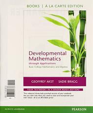 Developmental Mathematics Through Applications