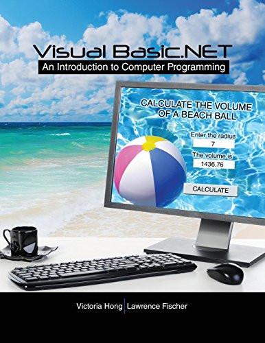 Visual Basic.NET  Introduction to Computer Programming