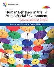 Human Behavior In the Macro Social Environment