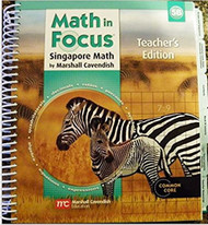 Math in Focus Singapore Math Teacher's Edition Grade 5 Book B 2013
