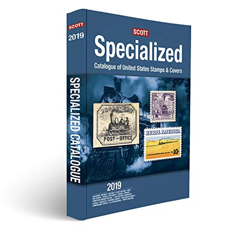 2019 Scott Specialized Catalogue of United States Stamps & Covers - Confederate States Canal Zone Danish West Indies Guam Hawaii United Nations