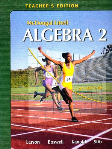 Algebra 2 Teacher's Edition