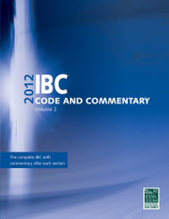 2012 International Building Code Commentary Voume 2