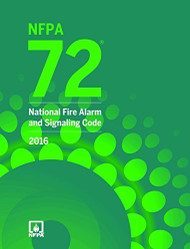 NFPA 72 National Fire Alarm and Signaling Code