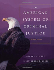 American System Of Criminal Justice