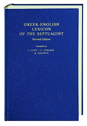 Greek-English Lexicon of the Septuagint  by J Lust