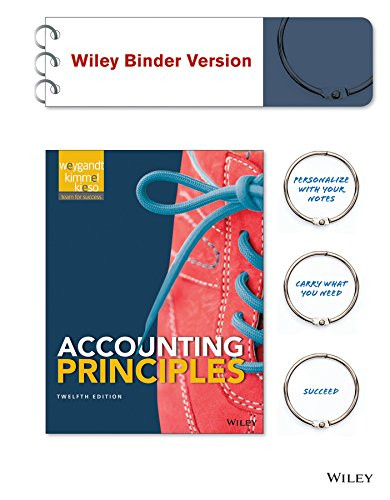Accounting Principles 12E WileyPLUS with Loose-Leaf Print Companion with WileyPLUS Leanring Space Card Set