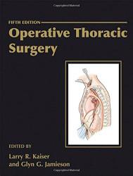 Operative Thoracic Surgery