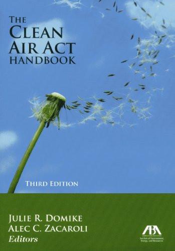 Clean Air Act Handbook