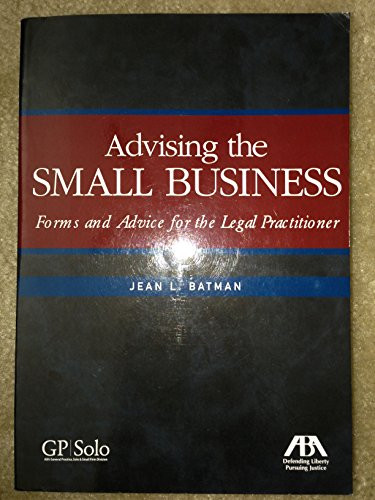 Advising the Small Business