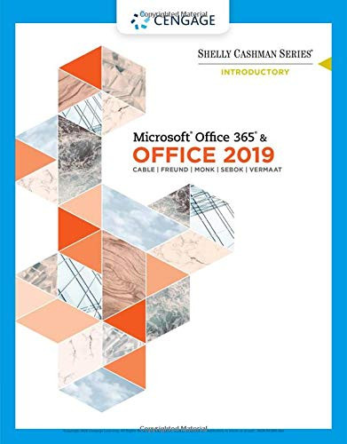 Microsoft Office 365 & Office 2019 Introductory