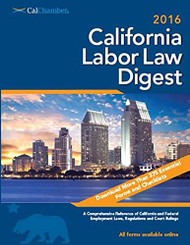 2016 Labor Law Digest