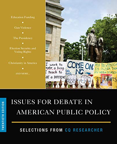 Issues for Debate in American Public Policy