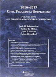 Civil Procedure Supplement