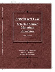 Contract Law Selected Source Materials