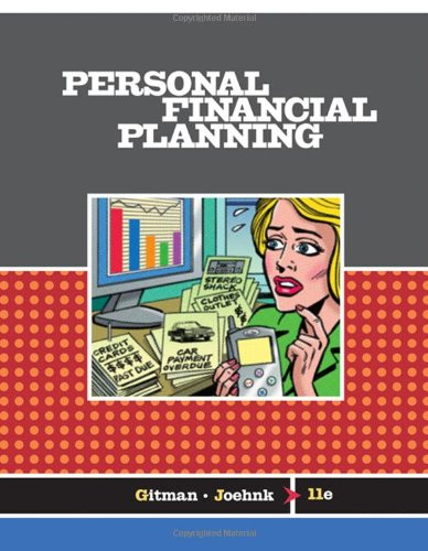 Personal Financial Planning