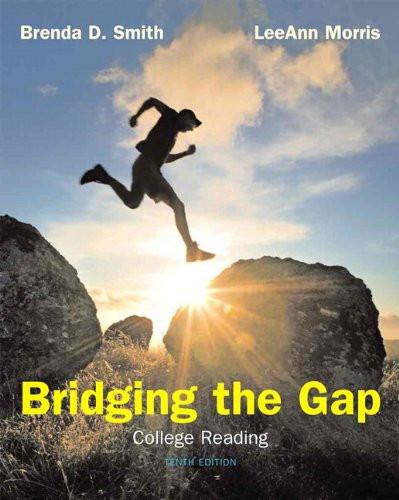 Bridging the Gap  College Reading