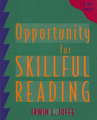 Opportunity for Skillful Reading