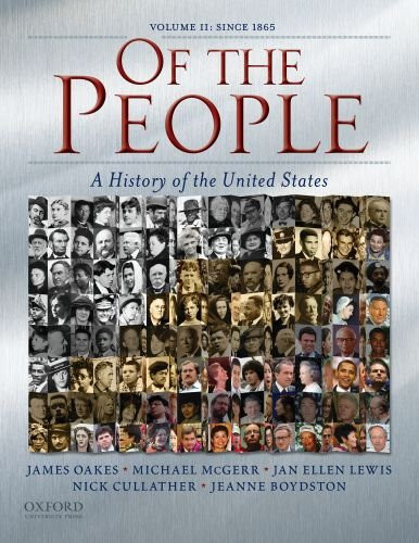 Of the People Volume 2 Since 1865
