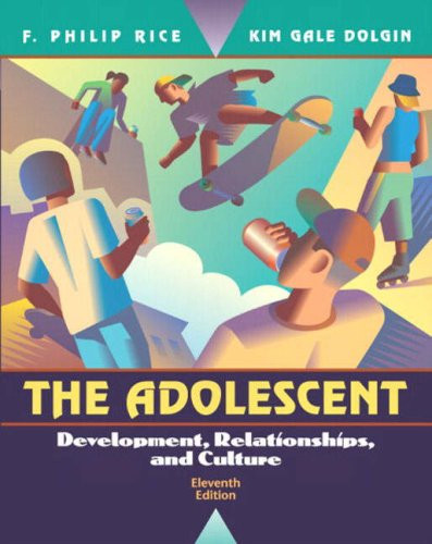 Adolescent: Development Relationships & Culture