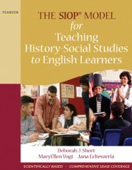 Siop Model For Teaching History-Social Studies To English Learners