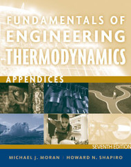 Fundamentals of Engineering Thermodynamics Appendices