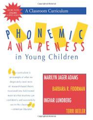 Phonemic Awareness In Young Children