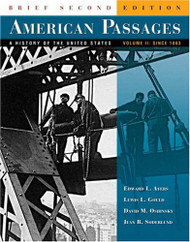 American Passages Volume 2 Brief Edition