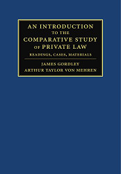 Introduction to the Comparative Study of Private Law