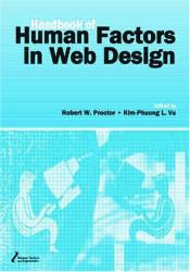 Handbook of Human Factors In Web Design