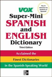 Vox Super-Mini Spanish And English Dictionary