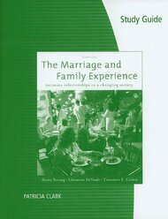 Study Guide for Strong/Devault/Cohen's the Marriage and Family Experience