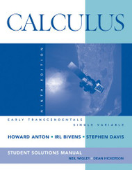 Calculus Early Transcendentals Single Variable Student Solutions Manual