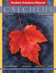 Solutions Manual for Calculus Single Variable