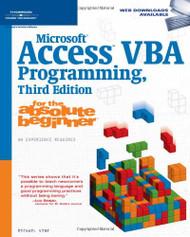 Microsoft Access Vba Programming for the Absolute Beginner
