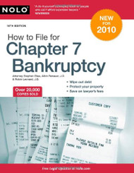 NOLO How to File for Chapter 7 Bankruptcy