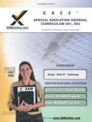 Gace Special Education General Curriculum 081 082 Teacher Certification Test