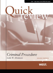 Quick Review of Criminal Procedure