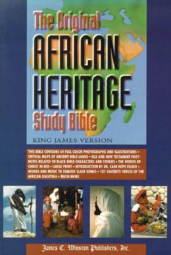 Original African Heritage Study Bible-Kjv-Large Print