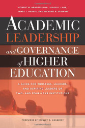 Academic Leadership And Governance Of Higher Education