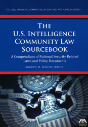 Us Intelligence Community Law Sourcebook