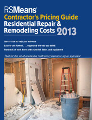 Contractor's Pricing Guide Residential Repair And Remodeling Costs