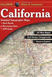 California Atlas And Gazetteer