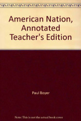 American Nation Annotated Teacher's Edition
