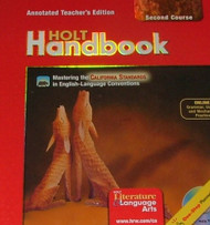 Holt Handbook Second Course Annotated Teacher's Ed California Standards