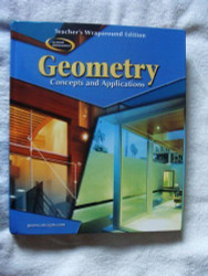 Geometry Concepts and Applications Teacher's Edition