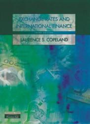 Exchange Rates and International Finance