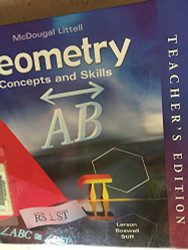 Geometry Concepts And Skills Teacher Edition