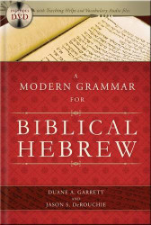 Modern Grammar For Biblical Hebrew